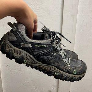 Women Merrell trail shoes